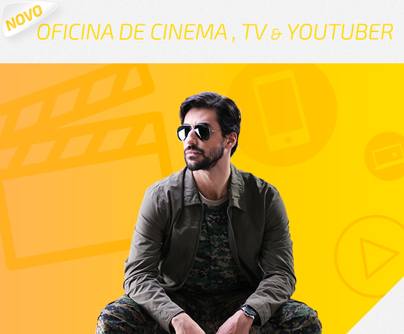 Curso Oficina de Cinema, Tv e Youtuber